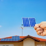 Getting a free solar panel estimate