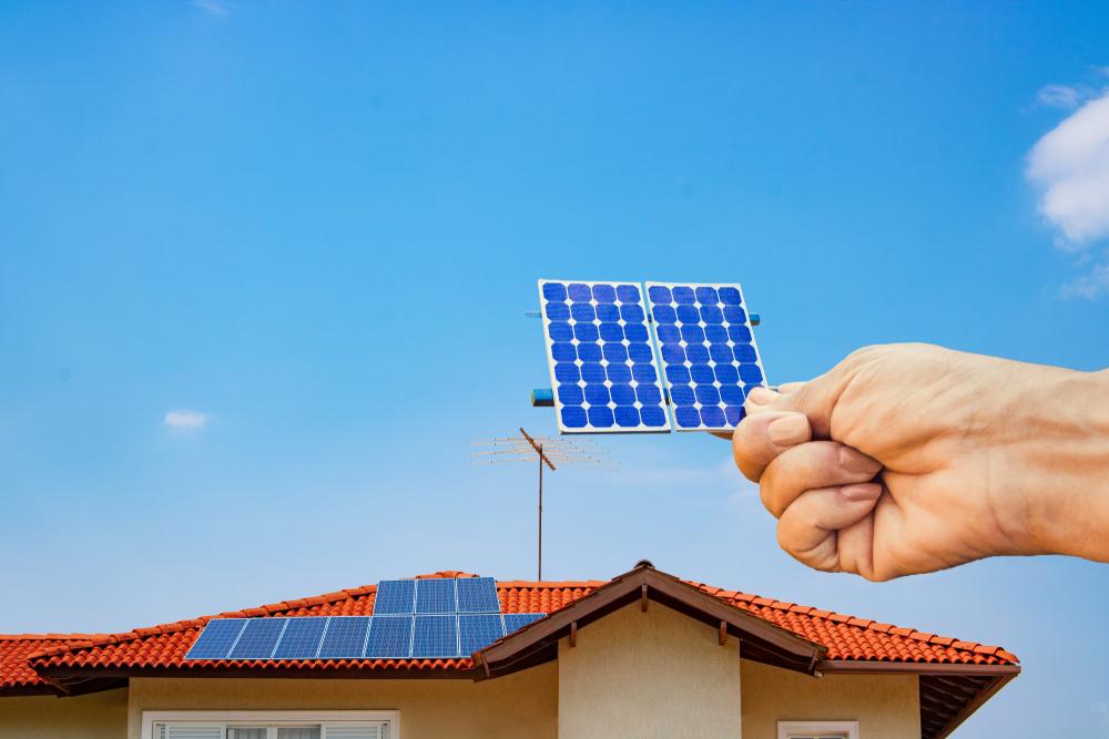 Getting a free solar panel estimate