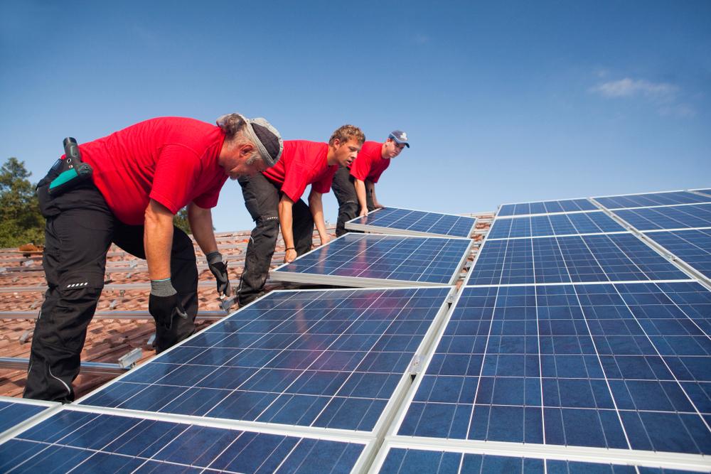 Moving solar panels
