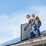 How do solar panels affect your roof
