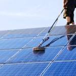 How to maintain solar panels