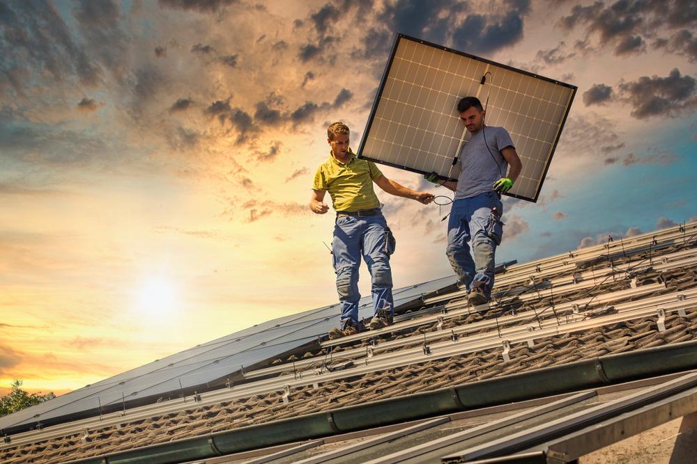 solar installation Washington